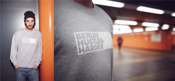 berlin hustles harder sweater/crewneck bhh