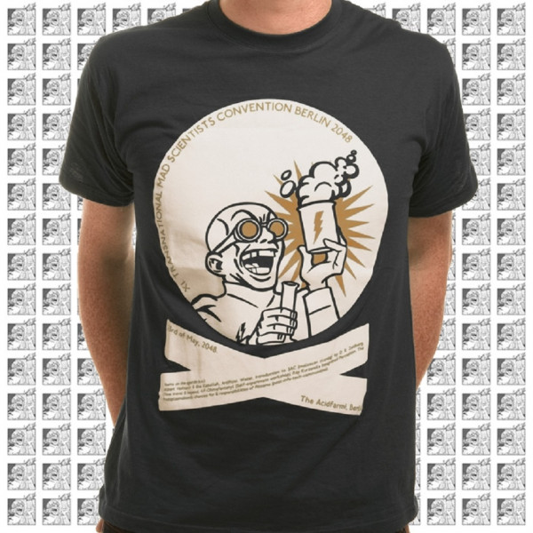 acidfarm tshirt boy mad scientists convention 2024