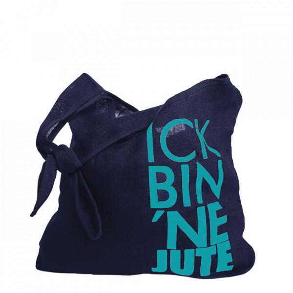 encode shopping-bag ick bin 'ne jute 025 pouch