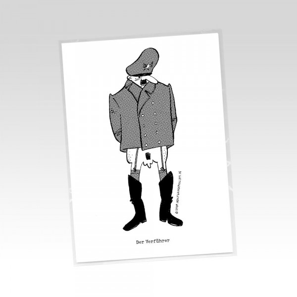 wolfgang philippi postkarte der verführer
