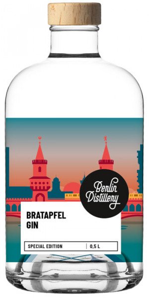berlin distillery bratapfel gin 0,5 l (44,2 % vol.)