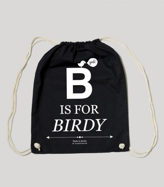 silberfischer gym bag b is for birdy
