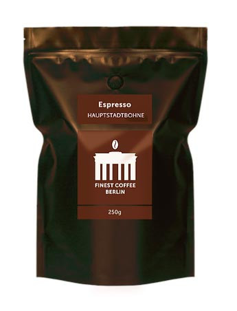 finest coffe berlin berlin espresso bohnen 250 g