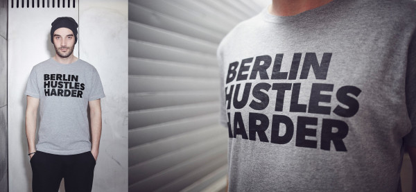 berlin hustles harder tshirt bhh