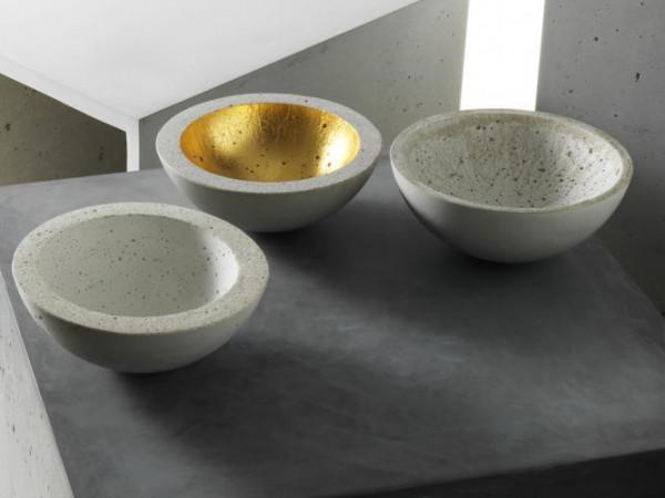 betonware minischale gold & silber