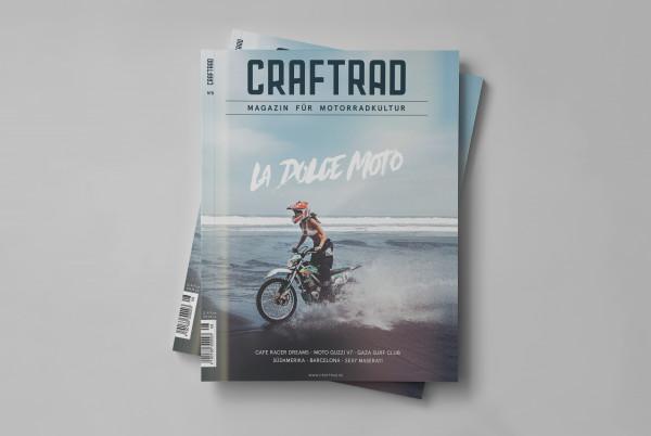craftrad magazin für motorradkultur #8 la dolce moto