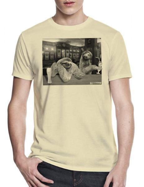 sonntag berlin tshirt faultiere