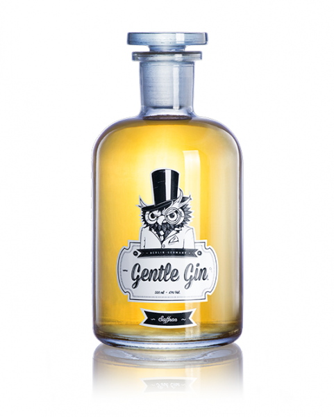 gentle gin gentle gin saffran 0,1 l