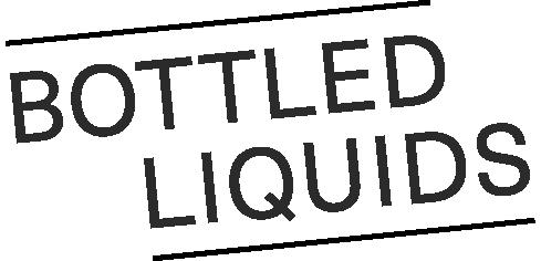 bottled liquids