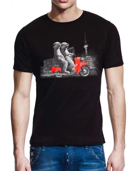 sonntag berlin tshirt moped