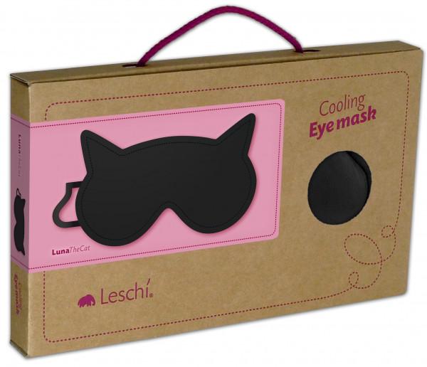 leschi schlafmaske luna the cat schwarz