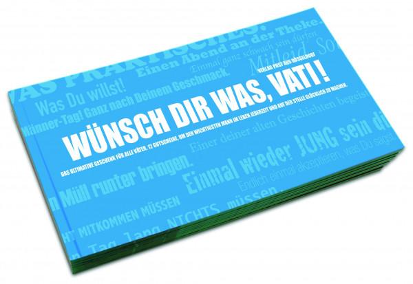 post aus düsseldorf gutscheinbuch: wünsch dir was, vati!