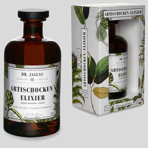 dr. jaglas artischocken-elixier 0,5 l