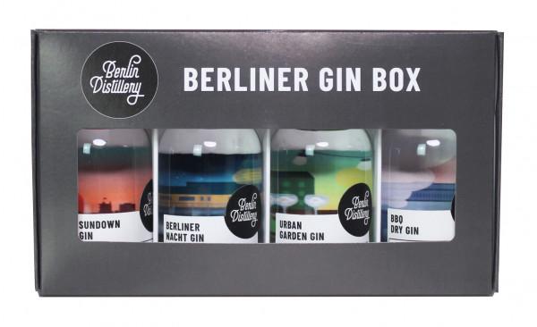 berlin distillery berliner gin box (4 x 50 ml)