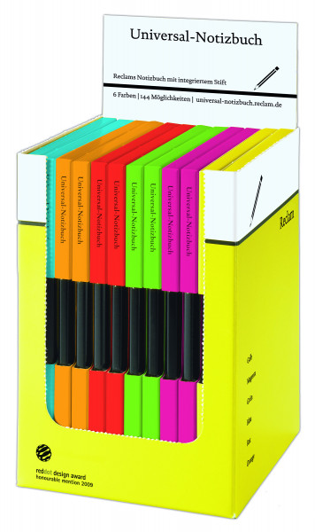 reclam universal notizbuch blanko 12'er box