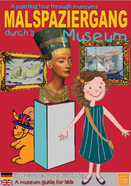 crealino malbuch malspaziergang museum