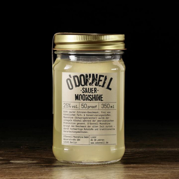 o'donnell moonshine sauer