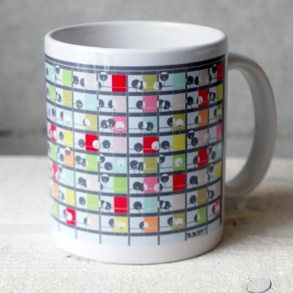 s-wert design tasse weltempfänger