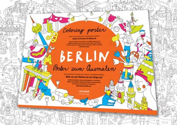 coloreo ausmalposter wimmelstadtplan berlin