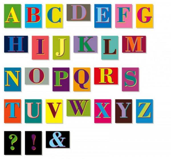 siebensachen lettercards set