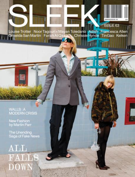 sleek magazin issue #63 all falls down autumn 2019