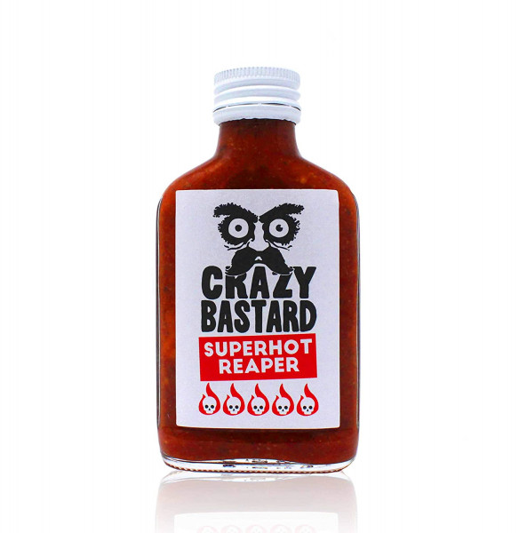 crazy bastard sauce super hot reaper