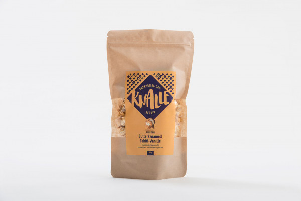 knalle popcorn 100 g butterkaramel tahiti-vanille