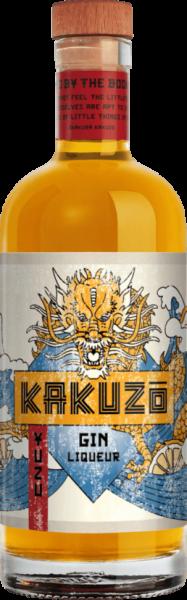 kakuzo yuzo gin liqueur 20 % vol.