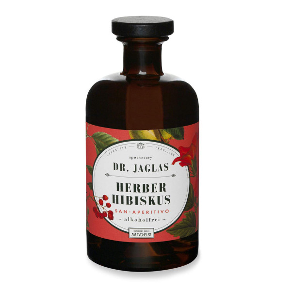 dr. jaglas herber hibiskus - san aperitivo 0,5 l