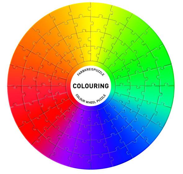 siebensachen colouring farbkreispuzzle