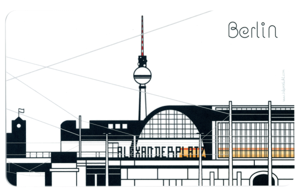 istprodukt frühstücksbrettchen berliner u-bahnhöfe