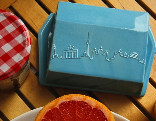 nemka butter- käsedose butt & kaas berlin keramik