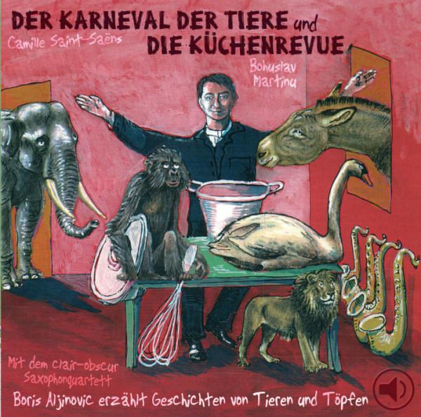 o-ton-produktion hörspiel der karneval der tiere und die küchenrevue