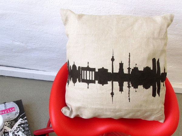 44spaces leinenkissen berlin cushion
