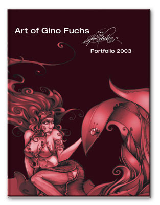 daily graphics buch art of gino fuchs portfolio 2003