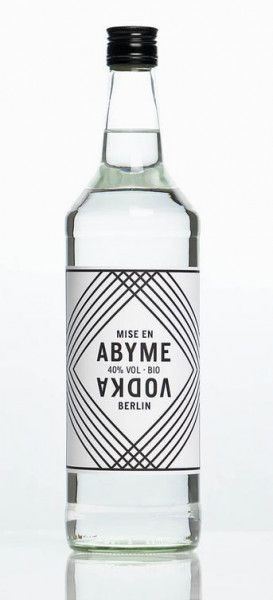 abyme vodka mise en abyme 1,0 l