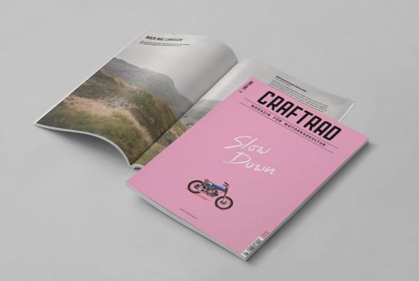 craftrad magazin für motorradkultur #14 slow down