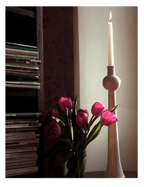 nemkaberlin fernsehturm kerzenständer & blumenvase gross (43 cm)