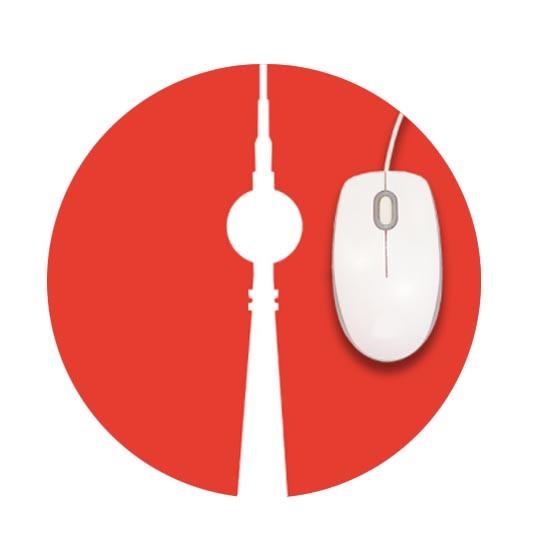 s-wert design mousepad fernsehturm