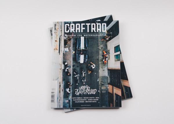 craftrad magazin für motorradkultur #7 urban playground