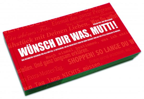 post aus düsseldorf gutscheinbuch: wünsch dir was, mutti!