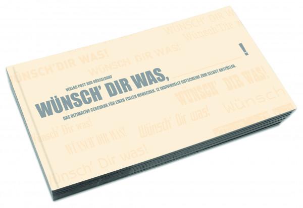 post aus düsseldorf gutscheinbuch blanko zum selber ausfüllen!