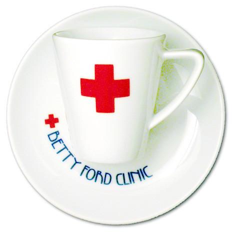 jones betty ford clinic espresso tasse 2-teilig