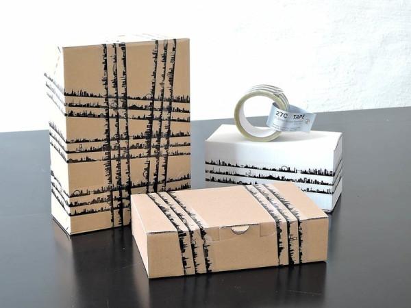 44spaces klebeband 27c gift tape mit 27 stadtsilhouetten