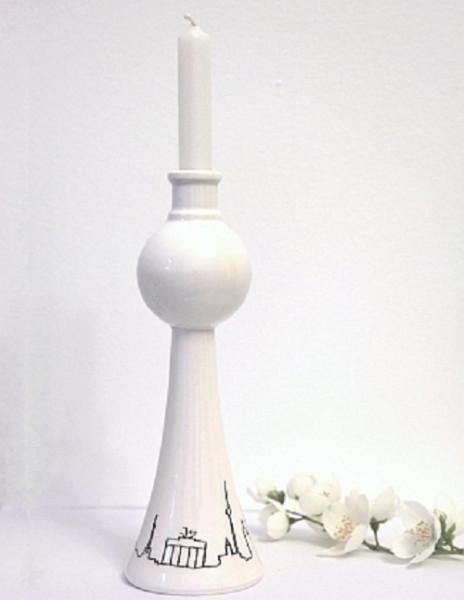 nemkaberlin fernsehturm kerzenständer & blumenvase klein (17 cm)