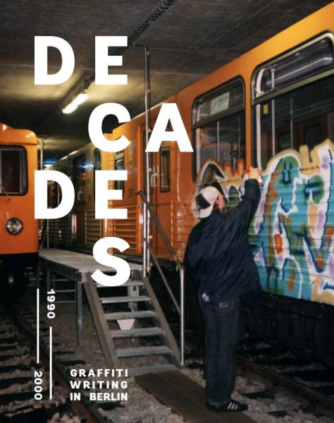 racoon buch DECADES vol.1- graffiti writing in berlin (1990-2000)