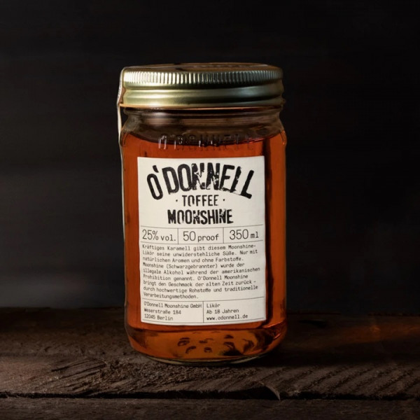 o'donnell moonshine toffee