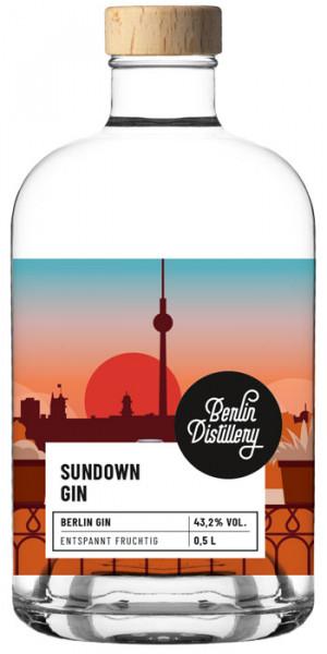 berlin distillery sundown gin 0,5 l