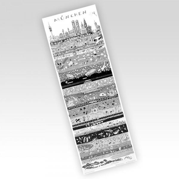 wolfgang philippi poster münchen in schichten