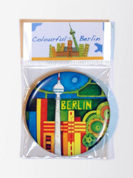 maina-manufaktur colourful berlin magnet (37mm)